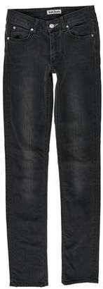 Acne Studios Hex Vein Mid-Rise Jeans