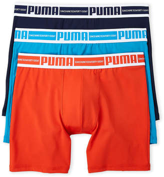 Puma 3-Pack Tech Boxer Briefs