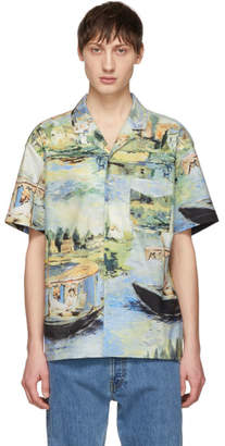 Off-White Off White Multicolor Lake Shirt