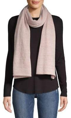 Lord & Taylor Lightweight Cashmere-Blend Jersey Scarf