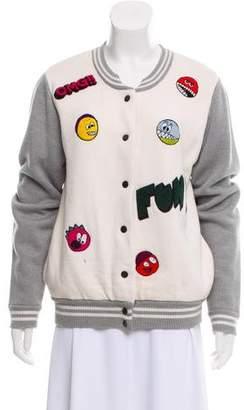 Mira Mikati Wool Bomber Jacket