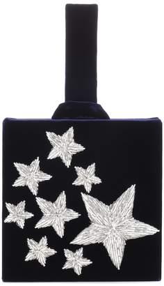 Stelle Sanayi 313 embroidered velvet clutch