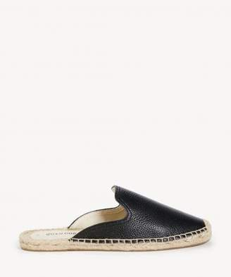 Sole Society Tumbled Leather Mule Leather Mule