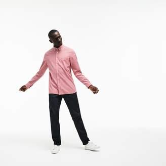 Lacoste Men's Regular Fit Check Cotton Twill Shirt