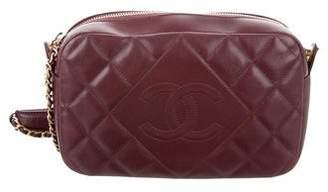 Chanel Diamond CC Camera Bag