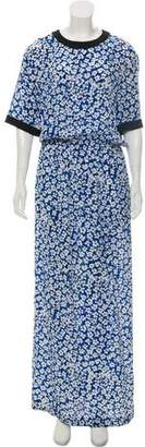 Ungaro Printed Maxi Dress