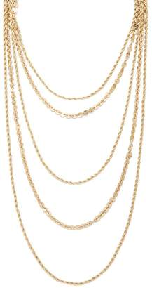 Forever 21 Mixed Chain Layered Necklace