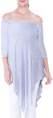 Olian Off the Shoulder Maternity Tunic
