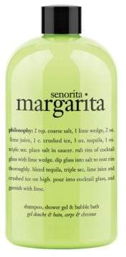 philosophy Senorita Margarita 3 in 1 Shampoo Shower Gel and Bubble Bath 16oz