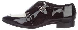 Jimmy Choo Patent Leather Pointed-Toe Loafers