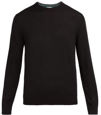 Paul Smith Crew Neck Wool Sweater - Mens - Black