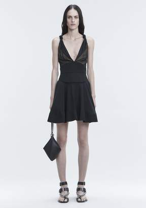 Alexander Wang FLARED MINI DRESS