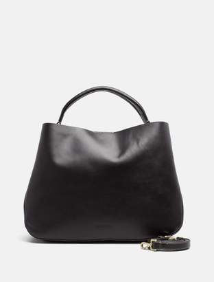 Calvin Klein large leather tote bag