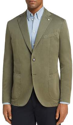 L.B.M Garment Dyed Cotton Slim Fit Sport Coat