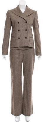 Dolce & Gabbana Wool-Blend Three-Piece Pantsuit