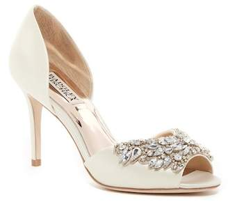 Badgley Mischka Candance Crystal Embellished d'Orsay Pump
