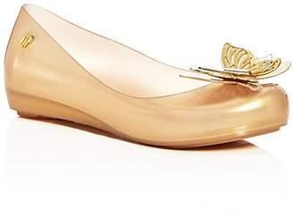 Mini Melissa Girls' Mini Ultragirl Fly Ballet Flats - Toddler, Little Kid $75 thestylecure.com