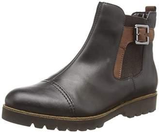 Remonte Dorndorf Women's D0173 Boots Black Schwarz (schwarz/schwarz/brandy/01) 4
