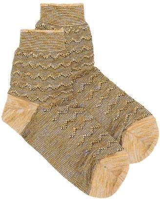 M Missoni ankle socks
