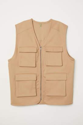 H&M Oversized Vest - Beige