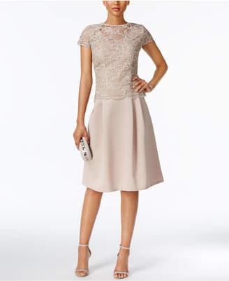 Alex Evenings Lace A-Line Dress $179 thestylecure.com