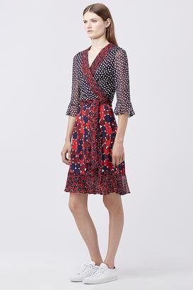Nieves Wrap Dress $598 thestylecure.com