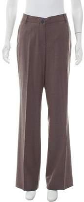Etro Wool Mid-Rise Pants