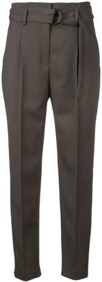 Akris Punto belted tailored trousers