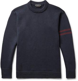 Prada Ribbed Virgin Wool Sweater