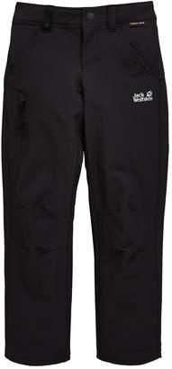 Jack Wolfskin Boys Activate Pants - Black