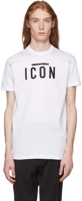 DSQUARED2 White Icon T-Shirt