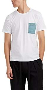Visvim Men's Embellished Cotton T-Shirt - White