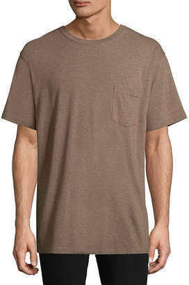 STAFFORD Stafford Short Sleeve Crew Neck T-Shirt-Big and Tall