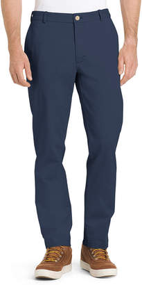 Izod Slim Fit Flat Front Pants