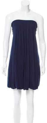 Diane von Furstenberg Strapless Bubble Dress