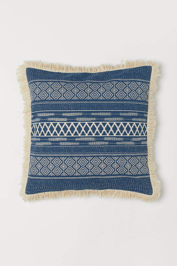 H&M Cushion Cover with Fringe