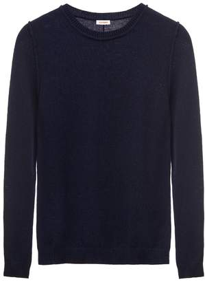 Cuyana Wool Cashmere Slim Crewneck Sweater