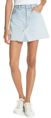 Elizabeth and James Paulie Vintage Denim Skirt