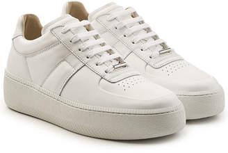 Maison Margiela Low Top Leather Platform Sneakers