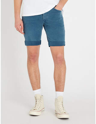 Replay RBJ 901 regular-fit stretch-denim shorts