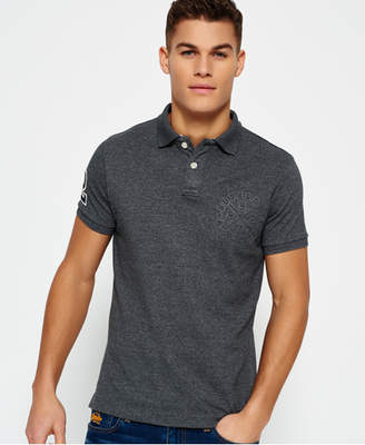 Superdry Classic Emboss Pique Polo Shirt
