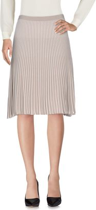 BOSS BLACK Knee length skirts $186 thestylecure.com