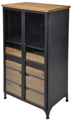 Soundslike HOME Sounds Like Home Acomby Tall Wine Cabinet