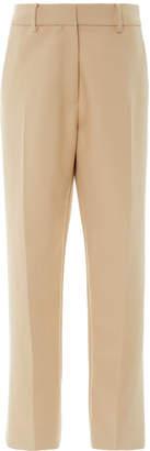 Khaite Catherine Cotton-Twill Cropped Pants