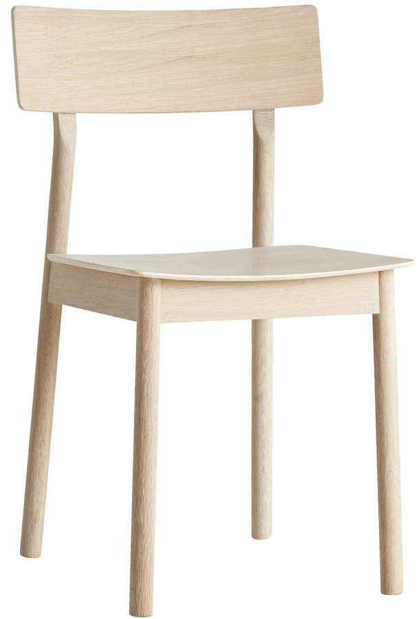 Woud - Pause Dining Chair, natur / weiß