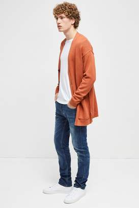 French Connection Overdyed Tape Cotton Cardigan