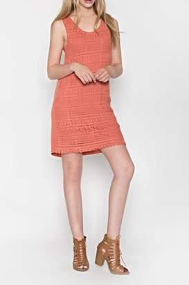 Monoreno Mur Crochet Cotton Dress