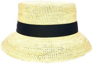 La Marqueza Hats Audrey Lampshade Straw Handwoven Panama Hat