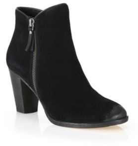 Cole Haan Hayes Suede Zip Ankle Boots $280 thestylecure.com