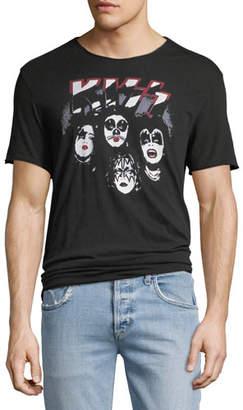 John Varvatos Men's Kiss Band T-Shirt